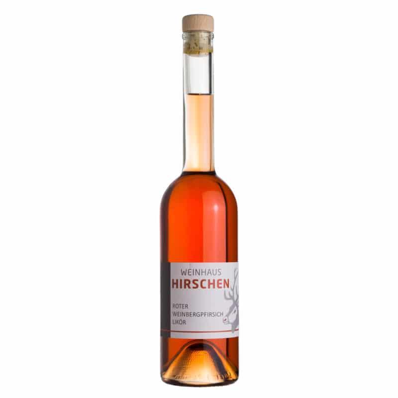 Roter Weinberg-Pfirsich-Likör Weingut Hirschen