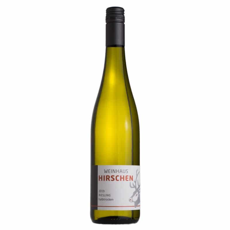 Riesling halbtrocken - Weißwein Mosel Weingut Hirschen