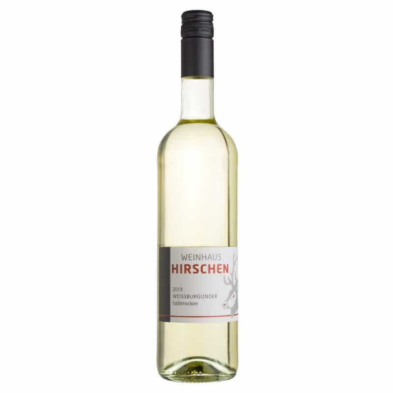 Weißburgunder Weissburgunder halbtrocken Wein Mosel - Weingut Hirschen